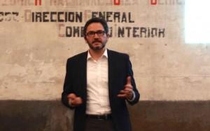 José Moncada CEO de La Bolsa Social durante la presentación