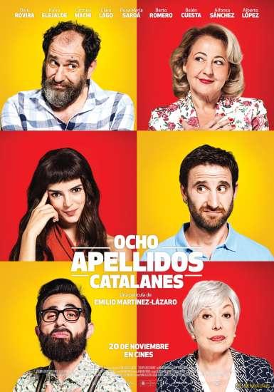 Cartel Ocho apellidos catalanes