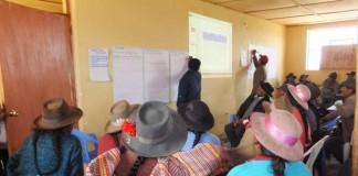 humania Mujeres en un taller de Farmamundi en Peru