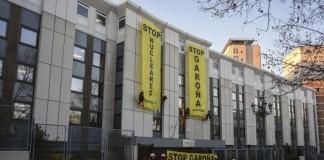 humania detenidos seis activistas de greenpeace