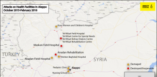 225878_Attacks on Health Facilities in Aleppo