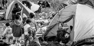 Refugiados sirios. Foto Mai Saki