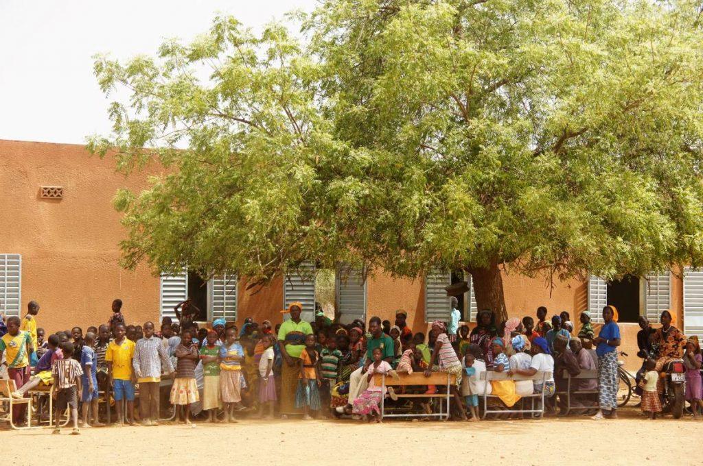 Niñas y niños Escuela Bonseiga 2016