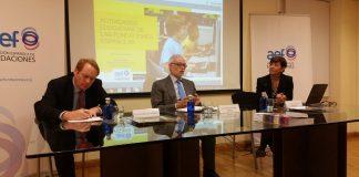 Asociación Española de Fundaciones (AEF) ha presentado esta mañana el primer estudio sobre actividades educativas en fundaciones españolas