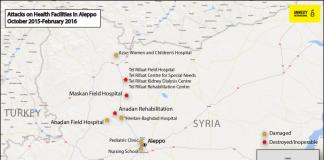 225878_Attacks on Health Facilities in Aleppo