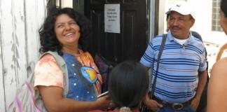 líder indígena Berta Cáceres, asesinada el jueves en Honduras.